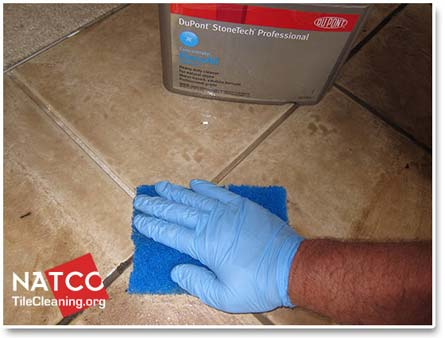 Cleaning Grout With Alkaline
