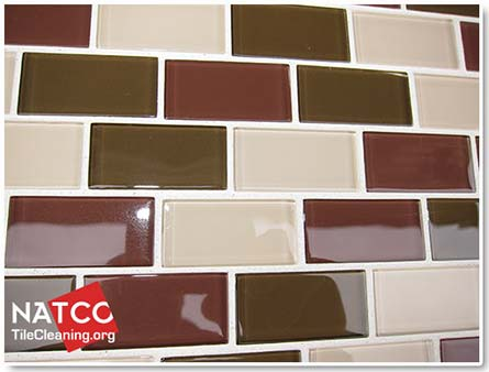 dyed mosaic tile grout