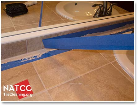 caulking tape removal