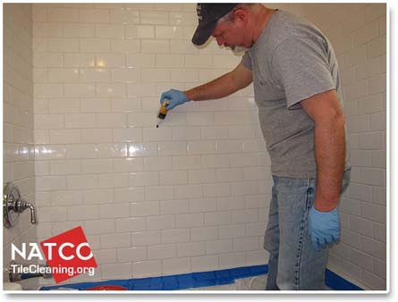 bathroom tile grout sealer how to remove mold in a tile shower 16768